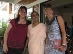 Lakshami, Carrie, and I
