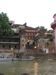One of the ghats on the Ganga