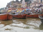 Boats on the Ganga