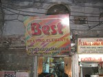 """This """"heating elements"""" was an odd site in Old Delhi as temps were well into the 100s"""