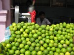 Fresh lime juice vender