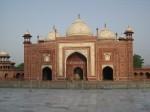 Northwest Mosque at the Taj Mahal