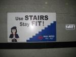 Good advice from the Delhi Metro